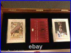 1999-2000 Michael Jordan Master Collection Upper Deck Card Set #/500 Very Rare