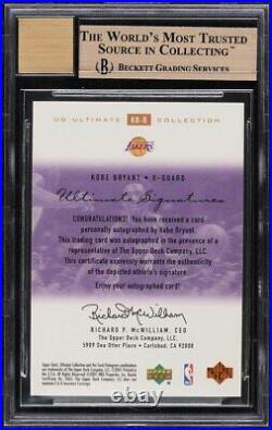 2000 Ultimate Collection Signatures Bronze Kobe Bryant AUTO /200 BGS 9.5 GEM MT