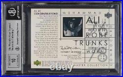 2000 Upper Deck Ali Master Collection Muhammad Ali PATCH AUTO /100 BGS 8.5 NM-MT