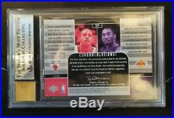 2002-03 UD KOBE BRYANT Jay Williams Dual Auto signed Autograph Autogramm MINT
