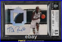 2003 Exquisite Collection Noble Nameplates Kevin Garnett PATCH AUTO /25 BGS 8.5