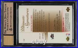2003 Ultimate Collection Gold LeBron James ROOKIE RC AUTO /23 BGS 9.5 GEM MINT