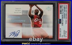 2003 Ultimate Collection Signatures LeBron James ROOKIE RC AUTO PSA 10 GEM MINT