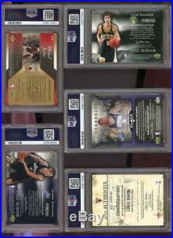 2004-05 Ultimate Collection Michael Jordan Signed AUTO Autograph PSA Graded Card