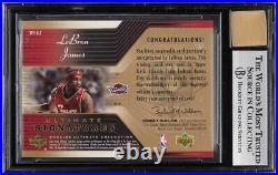 2004 Ultimate Collection Signatures LeBron James AUTO #LJ BGS 8.5 NM-MT+