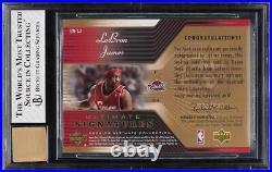 2004 Ultimate Collection Signatures LeBron James AUTO #LJ BGS 8 NM-MT