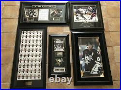 2005-06 + Sidney Crosby Huge Lot Auto Patch Jersey Stick Puck Bgs 10,9.5626card