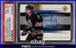 2005 Ultimate Collection Signatures Alexander Ovechkin ROOKIE RC AUTO PSA 10