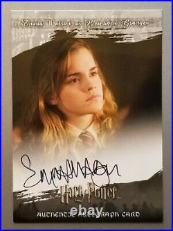 2008 Harry Potter Emma Watson Hermione Autograph Artbox