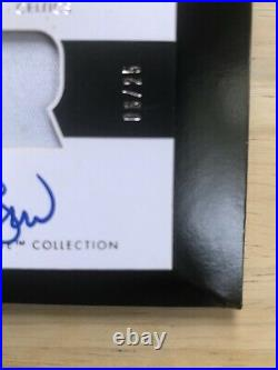 2009-10 Exquisite Collection Rookie Flashback Larry Bird PATCH AUTO 6/25