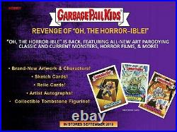 2019 Garbage Pail Kids Revenge Of Oh The Horror-ible Display Box Trick Or Treat