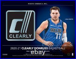 2020/21 Panini Clearly Donruss Basketball Hobby Box Pre-Order