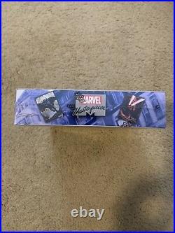 2020 Marvel Masterpieces Trading Cards SEALED HOBBY BOX 12 Packs! Palumbo UD