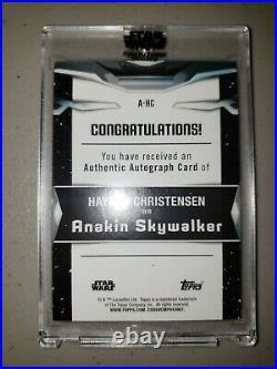 2021 Topps Star Wars Signature Series - Anakin Skywalker 1/1 Autographed