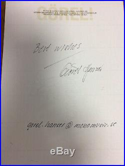 ABBA GENUINE SIGNED AUTOGRAPH A4 SIZE can be confirmed by their manager