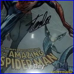 AMAZING SPIDER-MAN #700 (Autographed by Stan Lee) Death of Peter Parker CGC 9.6