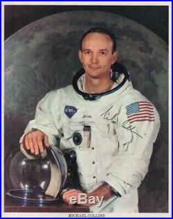 APOLLO 11 Neil Armstrong Moonwalkers BUZZ ALDRIN signed NASA Lithographs RARE x3