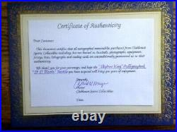 AWESOME! COLLECTIBLE! IF IT BLEEDS Autographed by STEPHEN KING