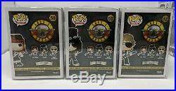 AXLE ROSE SLASH DUFF MCKAGAN Signed/ GUNS AND ROSES Funko Pop AUTOGRAPHED