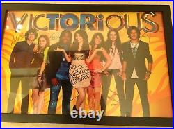 Ariana Grande Victorious Cast Signed 18x12 by ALL cast Justice Grande Gillies