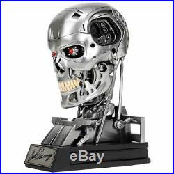 Arnold Schwarzenegger Autographed Terminator T-800 Endoskeleton 11 Prop Bust