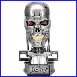 Arnold Schwarzenegger Autographed Terminator T-800 Endoskeleton 11 Scale Bust