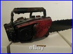 Ash Vs Evil Dead Chainsaw Replica Prop Bruce Campbell Autographed JSA Certified