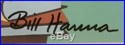 Autographed Bill Hanna & Joe Barbera Scooby-Doo Professor Hyde-White Cel EP3/7