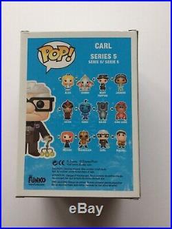 Autographed Funko Pop Disney Up Carl Vinyl Figure #59