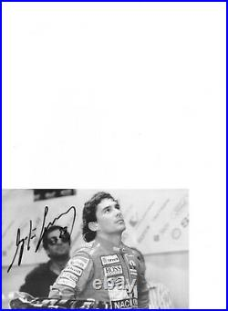Ayrton Senna Genuine Signed Authentic Autograph UACC / AFTAL