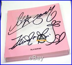 BLACKPINK BLACK PINK Original Signed Autographed SquareUP JiSoo PhotoCard KPOP
