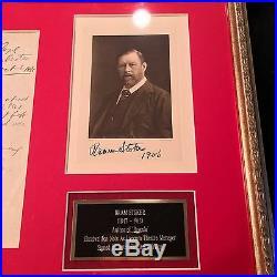 BRAM STOKER Handwritten AUTOGRAPH Note DRACULA Not SIGNED Henry Irving