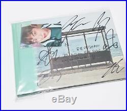 BTS PROMO ALBUM YNWA ALL MEMBER Autographed Signed JIN handwritten message KPOP