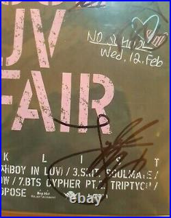 BTS signed / autographed SKOOL LUV AFFAIR boy in luv album mwave / no photo card