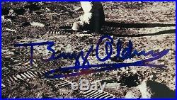 BUZZ ALDRIN Signed Photo Apollo 11 Lunar Surface with American Flag