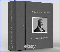 Barack Obama Signed A Promised Land Autographed Original BrownBox Next Day Air