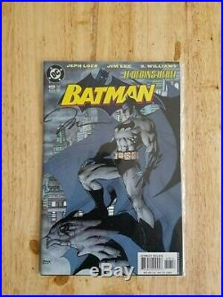 Batman 608 2nd Print Jim Lee Cover Hush AUTOGRAPHED