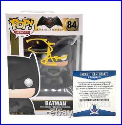 Ben Affleck Justice League Autograph Signed'batman' Funko Pop Beckett 2