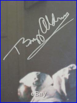 Buzz Aldrin Autographed We Come In Peace. Apollo 11 Moon Landing Poster