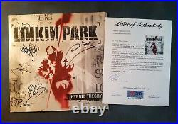 Chester Bennington Linkin Park Band Signed Autograph Album Hybrid Theory PSA/DNA