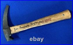Chouinard Crag Hammer, signed by Yvon Chouinard and Layton Kor