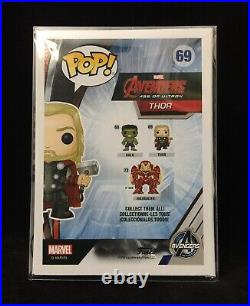 Chris Hemsworth Autographed / Signed Avengers Age of Ultron Funko Pop #69 withCOA