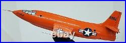 Chuck Yeager SIGNED Bell X-1-Scalecraft Model-1/32-withStand-No COA or box-AS IS