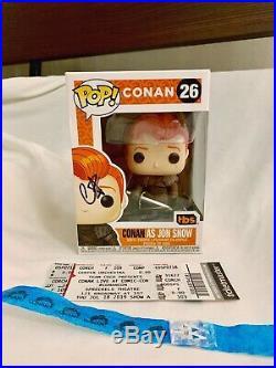 Conan as Jon Snow 2019 SDCC Funko Pop (26) signed / autographed