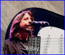 DAVID DAVE GROHL SIGNED FOO FIGHTERS CUSTOM RARE F/S ELECTRIC GUITAR WithPROOF BAS