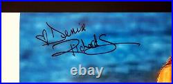 DENISE RICHARDS Signed Autographed 12X18 Photo PLAYBOY Beckett BAS #S16396