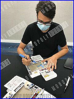 Daniel LaRusso Cobra Kai Funko Pop Signed by Ralph Macchio 100% With COA