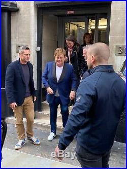 Elton John Signed Me Autobiography Book London Waterstones Event Inc Wristband