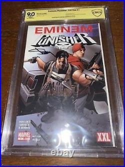 Eminem / Punisher Kill You #1 Signed By Eminem! CBCS Verified Autograph! Only 1