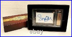 Emma Watson Signed Card Autograph Harry Potter Leaf Beckett Limited 1 of 1